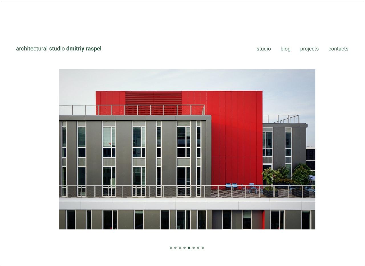 пример дизайна сайта 2
